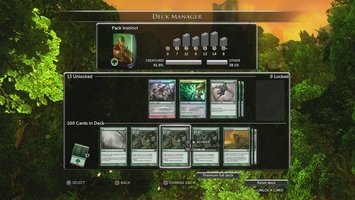 Look at our Magic The Gathering Deck Builder 8