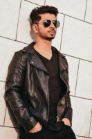 Mens Leather Jacket - 37772 types